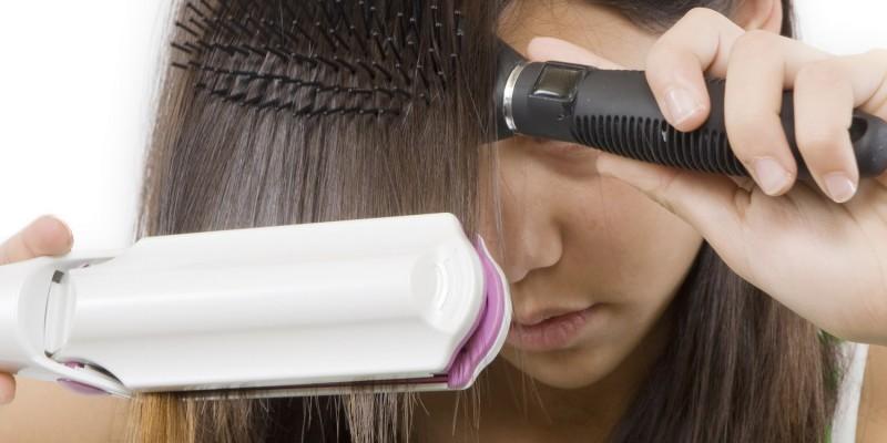 Vorsicht: nicht zu oft die Haare glätten