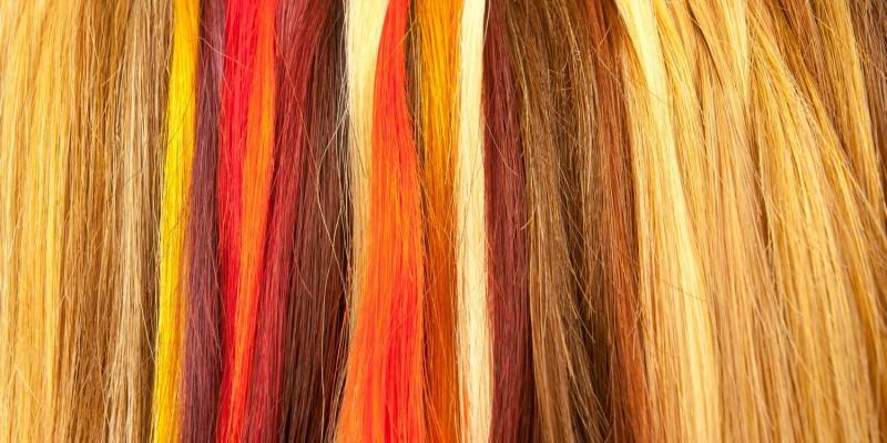 Viele Haarfarben zur Auswahl