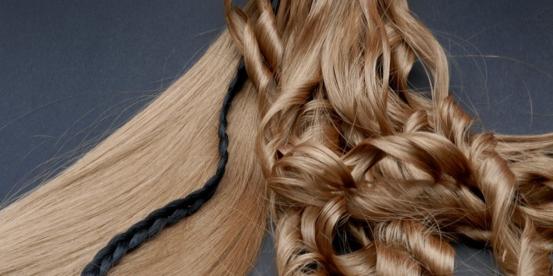 Haar in verschiedenen Formen